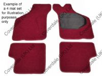 Austin 1800/2200 1964 to 1975 Front Overmat Set of 4 - Wessex Wool Range Range
